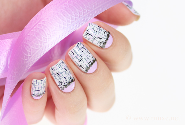 Metal studs nails design