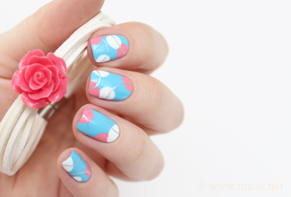Baby blue nail polish pics