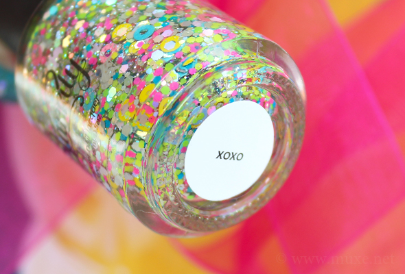 Starrily XOXO multicolored glitter