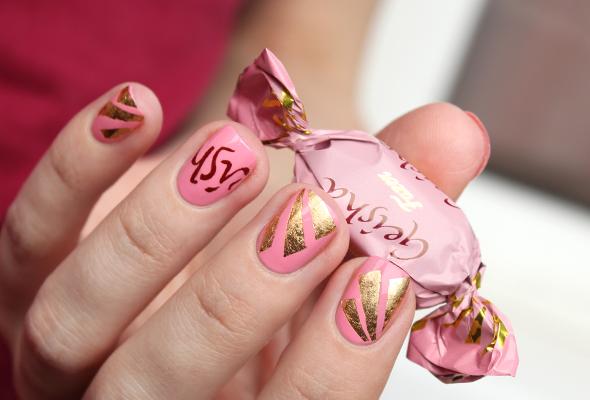 Fazer Geisha nail design