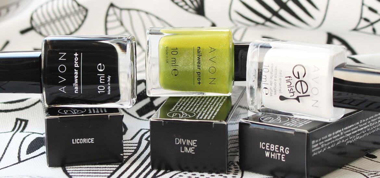 AVON: Divine Lime & Iceberg White