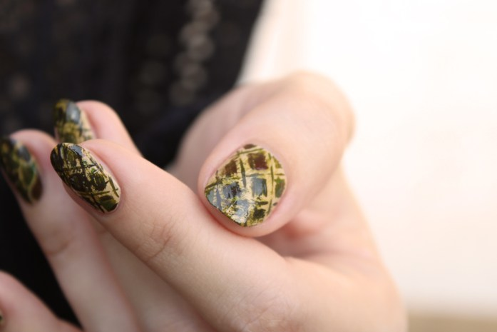 Africa Safari nail design