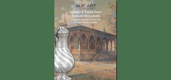 5 Haziran 2016 Karma Eserler Müzayedesi - Alif Art