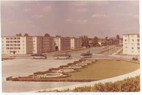 Piata Academiei Militare cu vedere spre Piata Eroilor