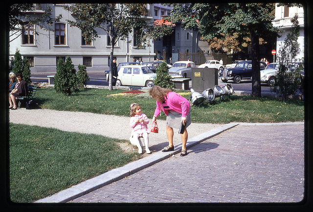 Scenă din București, 1971