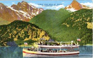 MV Alice Ross, Diablo Lake, WA