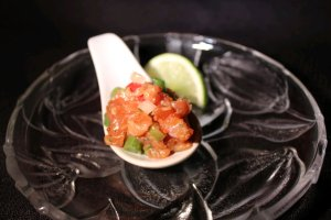 Asian salmon Tartar for CCC