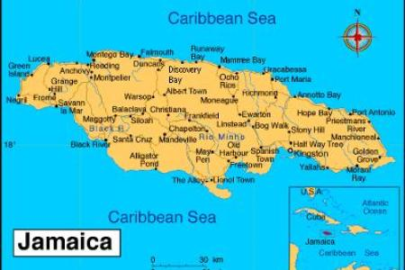 a detailed map of jamaica 21224166