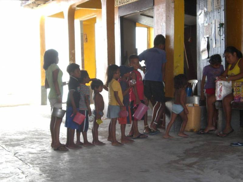 Voluntourism with children