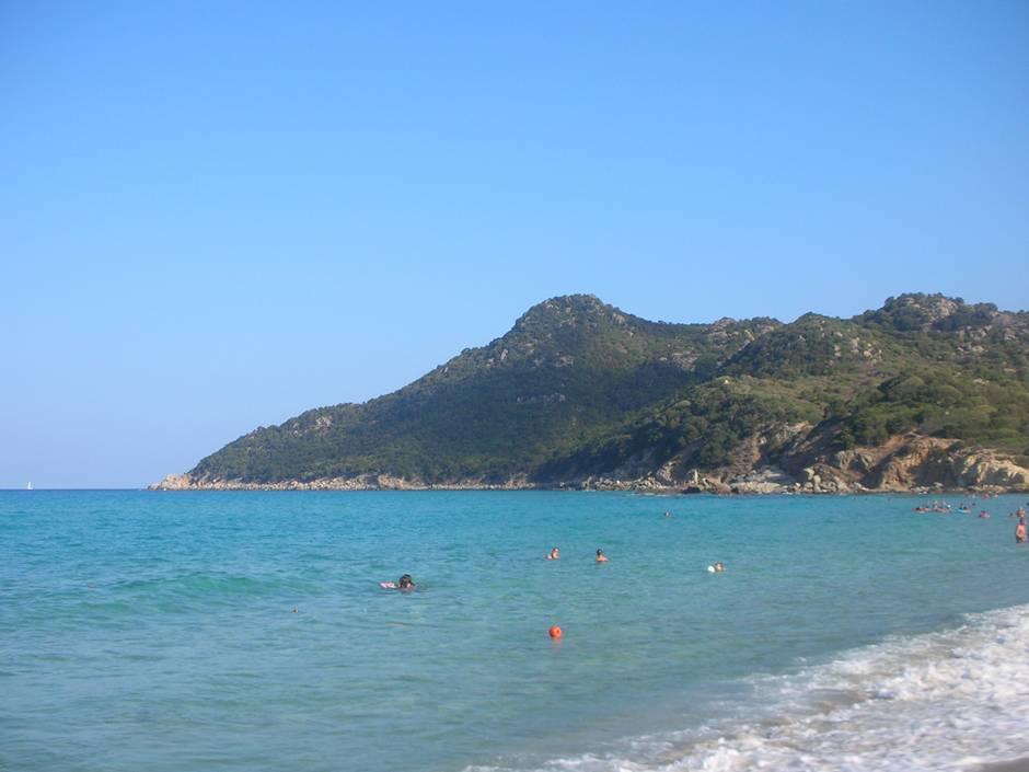Cala Sinzias, one of the best beaches in Sardinia