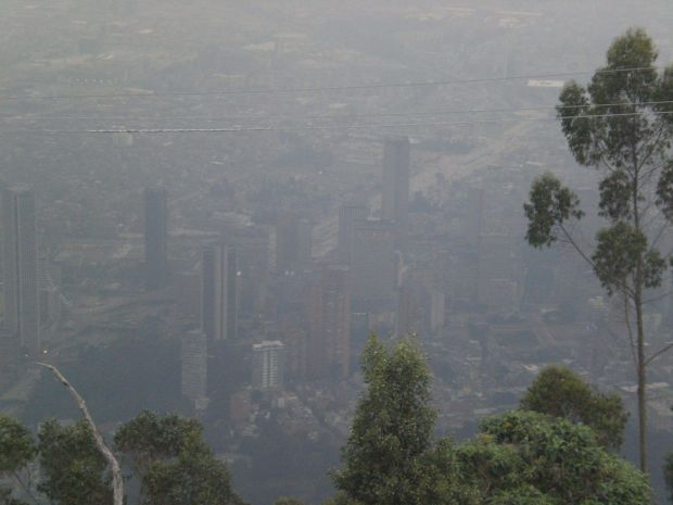 Things to do in Bogota: go up to the Parque Montserrate