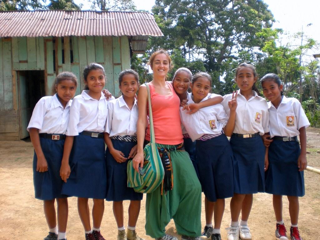 Volunteering in Melo