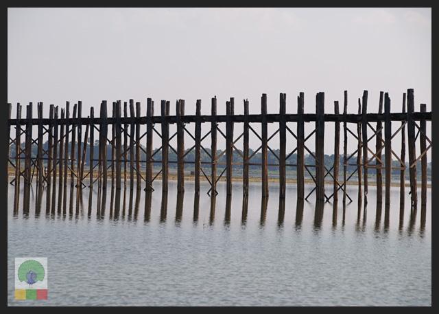U Bein Teak Bridge - Amarapura - Mandalay - Myanmar (Burma)5