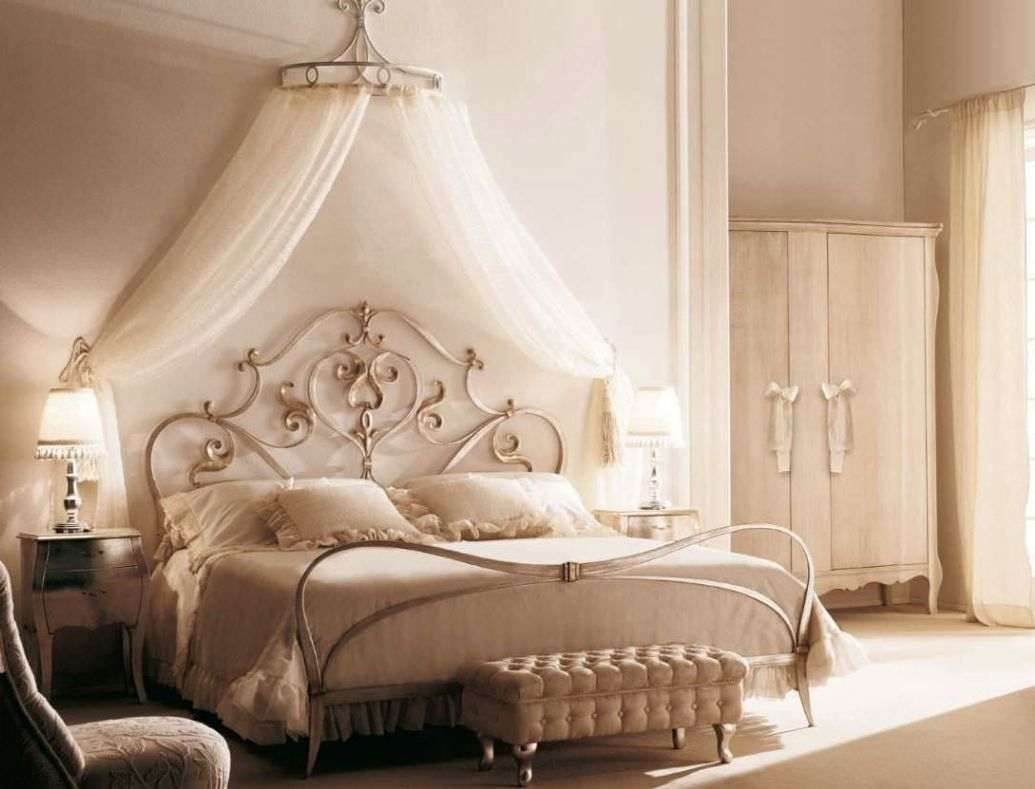Cheerful Exotic Canopy Bed Frame Woman Bedroom Canopy Bed Frame Feminine Look Storage Canopy Bed Frame Full Size houzz-03 Canopy Bed Frame