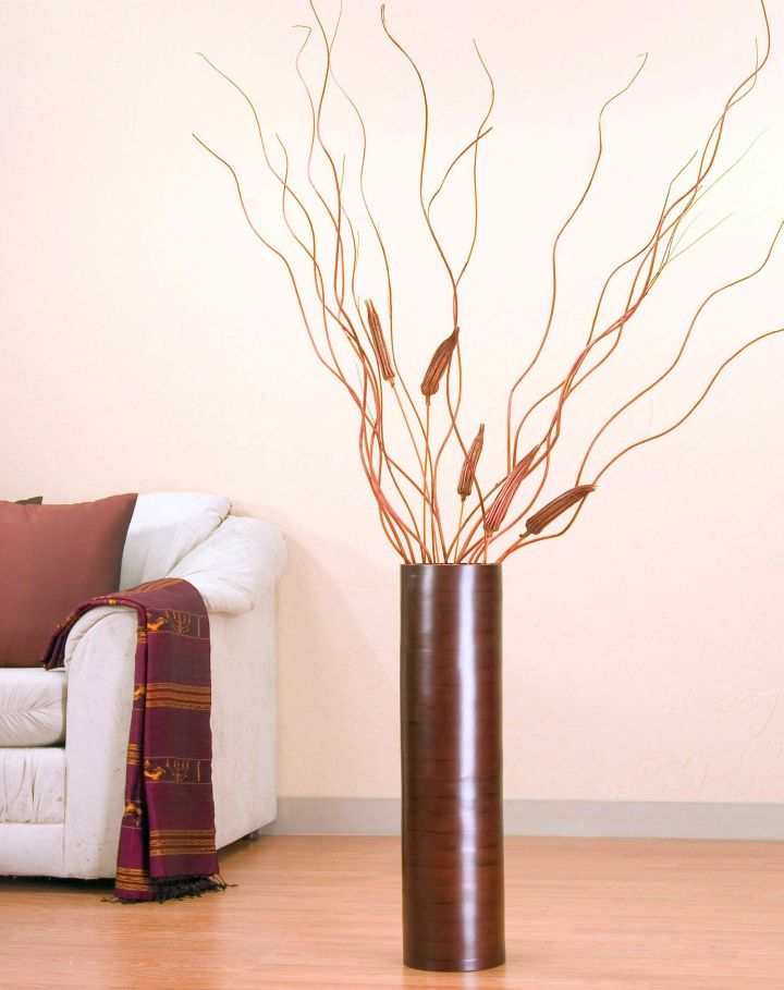 Classy and Ethnic Looking Floor Vase with Branches
