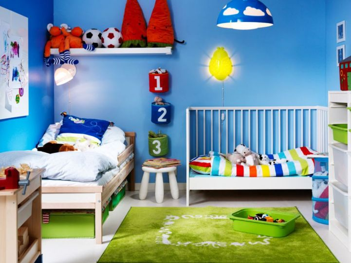 19 Fun And Cheerful Kids Room Paint Ideas