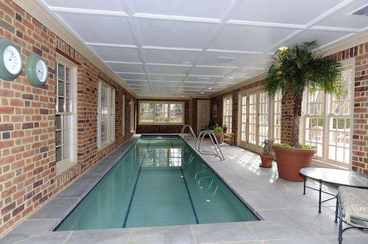 17 contemporary indoor lap pool designs ideas for How much is an indoor swimming pool
