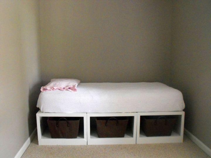 Minimalist storage how to make daybed for Minimalist bed storage