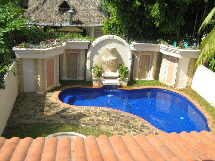Small Backyard Ideas With Pool : 17 Enchanting Small Swimming Pool Design Ideas For Small Backyard