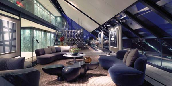 Luxurious Penthouse NEO Bankside by Roger Stirk Harbour - London, UK