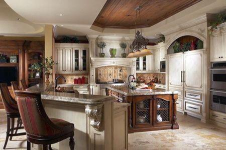 mediterranean kitchen designs with l shaped bar ?d07f32