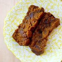 Gooey Pumpkin Cake with Bourbon Vanilla Bean Whipped Cream