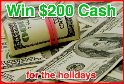 200 Cash Giveaway