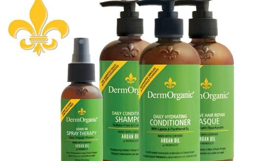 DermOrganic vegan hair products