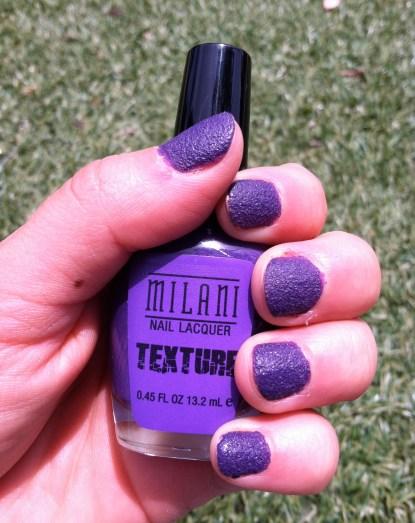 Milani Texture Nail Polish