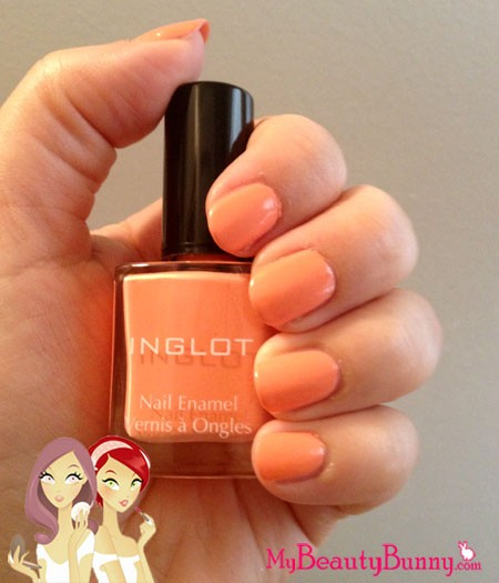 Inglot nail polish review