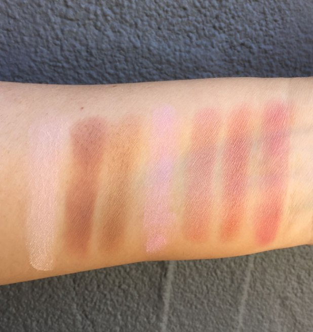 NARS Cheek Studio Palette Swatches