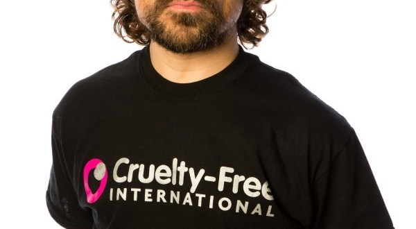 Peter Dinklage asks for the US to Ban Animal Testing for Cosmetics