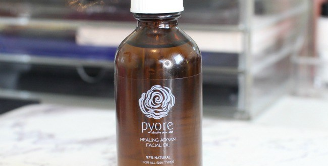 pyore healing argan facial oil