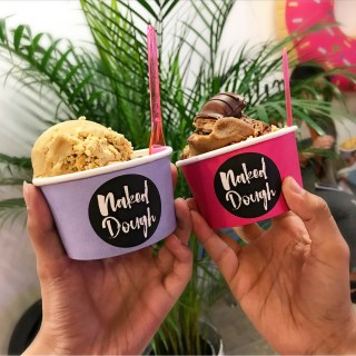 Edible Cookie Dough at Naked Dough