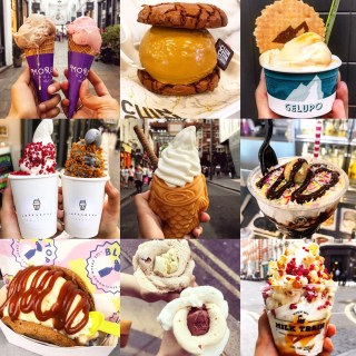 TOP 10 ICE CREAM SPOTS IN LONDON