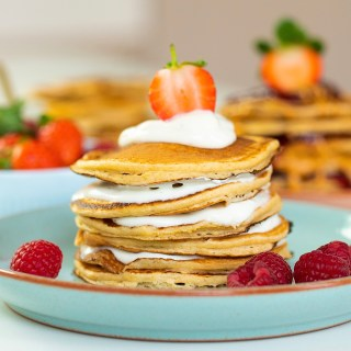 HEALTHY OAT PANCAKES RECIPE