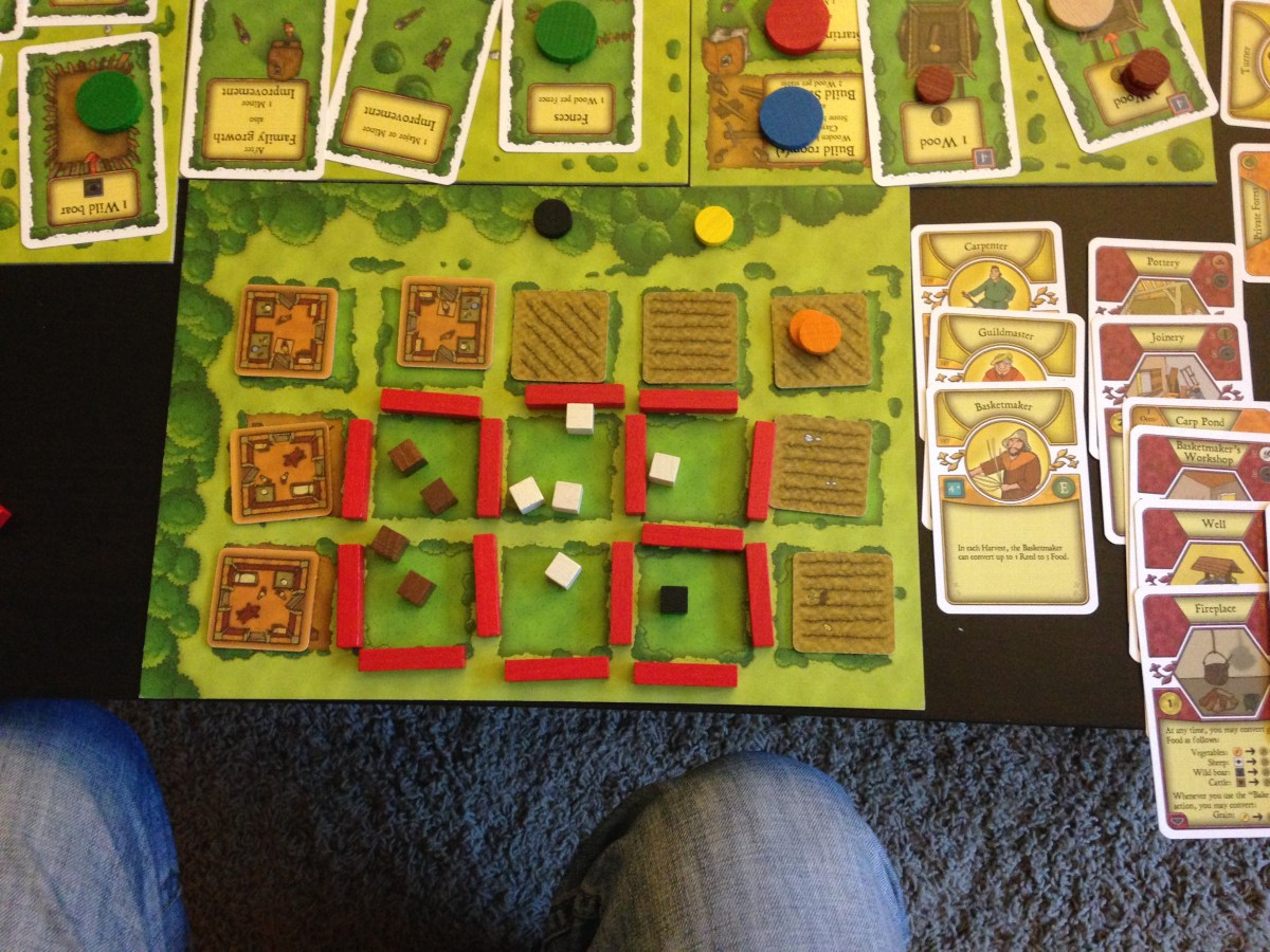 Previewing Mayfair's New Agricola Board Game