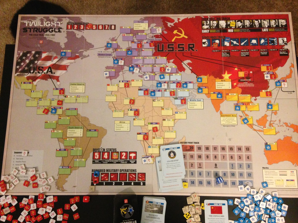 Brief Notes on Twilight Struggle: Me vs. cwrmadcat