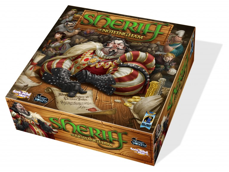 Cool Mini or Not Gets Worldwide Rights to Sheriff of Nottingham