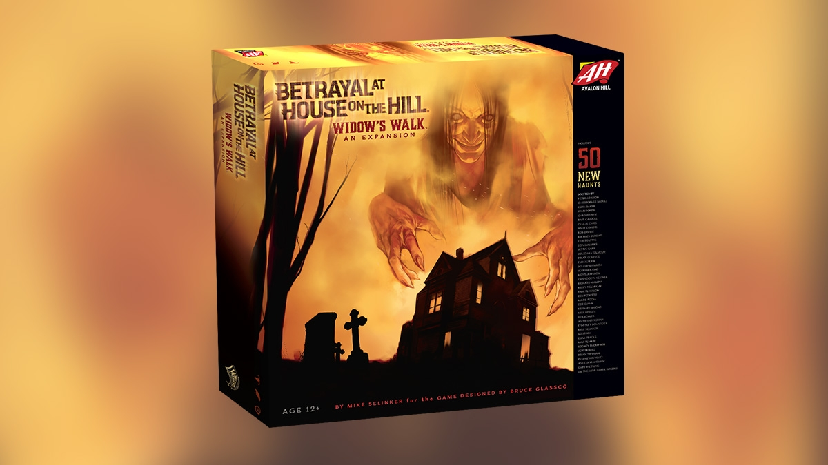 Betrayal at House on the Hill Expansion Widow's Walk Released in Fall 2016