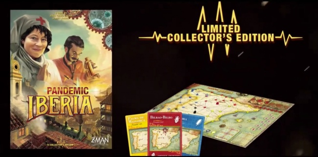 Pandemic - Iberia Teaser Trailer Hints at a Pandemic Game Focused on Historical Scenarios