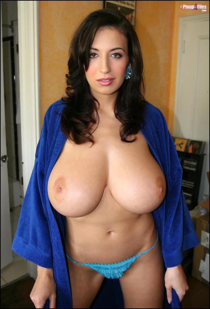 big tit mom in robe
