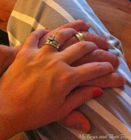 hand holding #shop