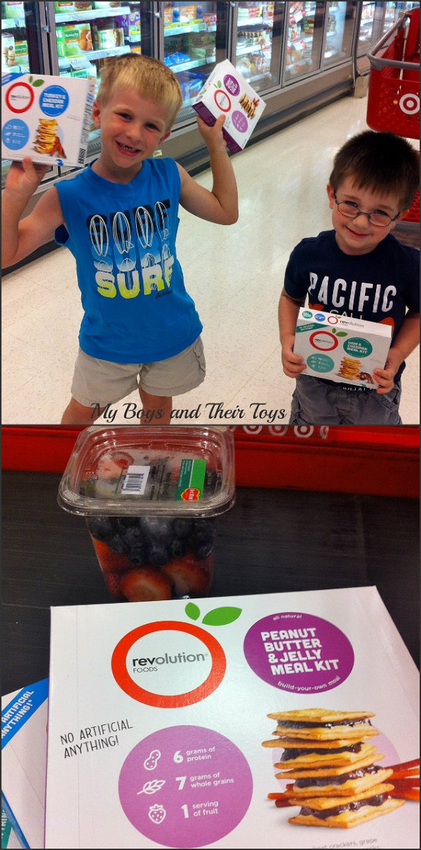 Revolution Foods at Target