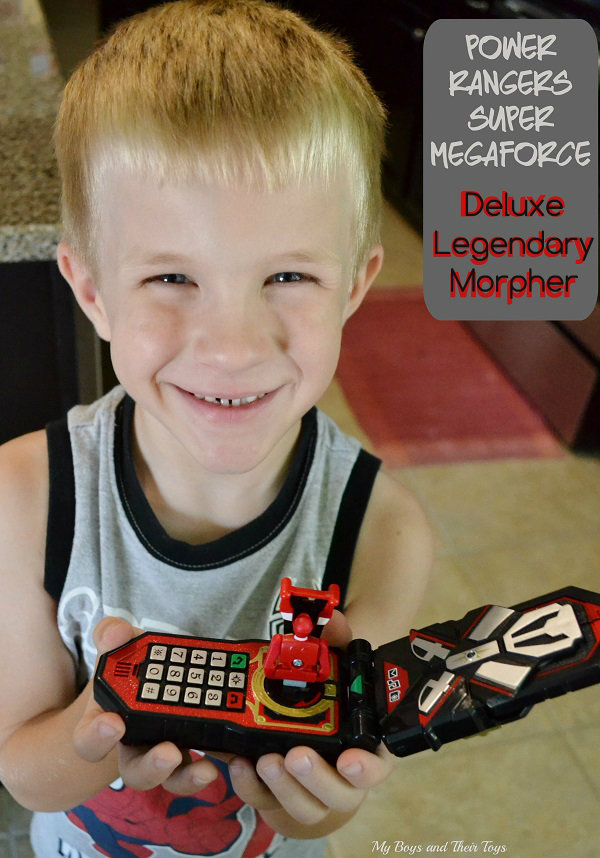 Boys And Their Toys : Power rangers super megaforce toys review