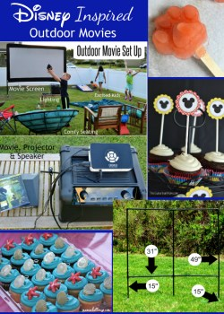 How to Host a Disney Outdoor Movies Night