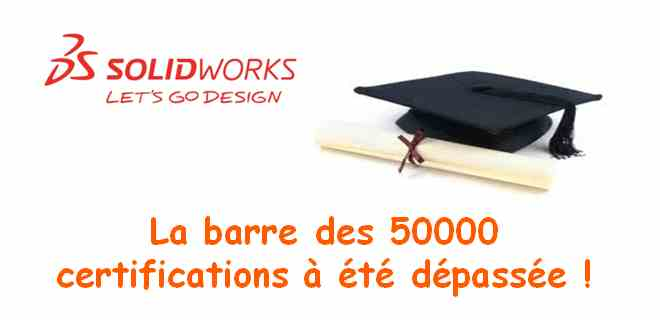 Barre des 50000 certifications SW