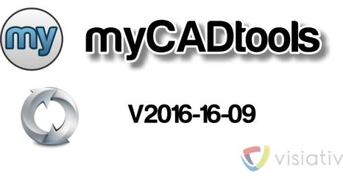MàJ setup MyCADtools 2016-16-09