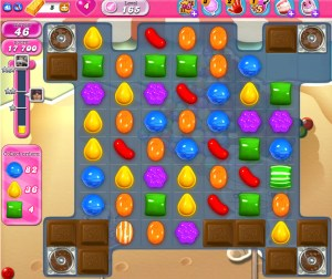Candy Crush Saga - niveau 165
