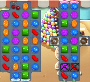 Candy Crush Saga - niveau 158